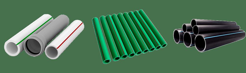 Выбор пластиковых труб по цвету